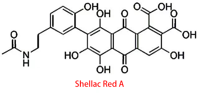 shellac red a